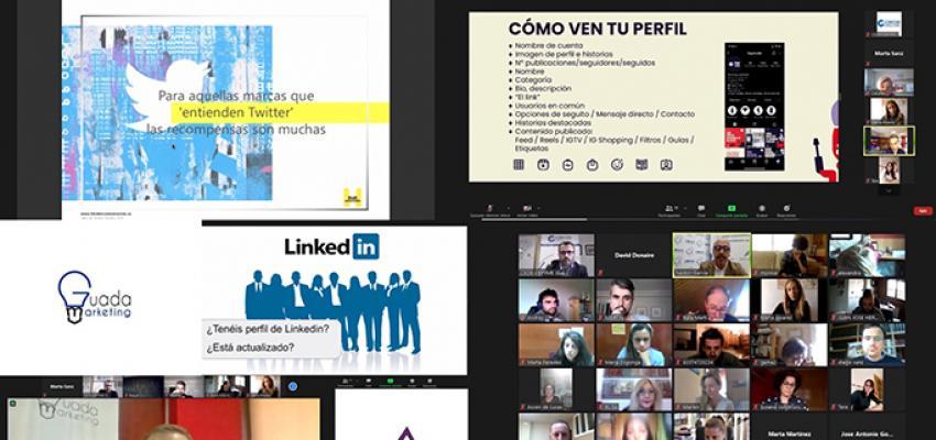 400 pymes y autónomos de toda la provincia participan en el ciclo de jornadas sobre gestión de redes sociales de CEOE-CEPYME Guadalajara