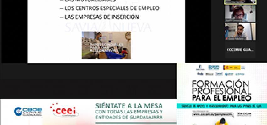 GuadaNetWork celebra un nuevo encuentro con la FP para el empleo y la economía social como protagonistas