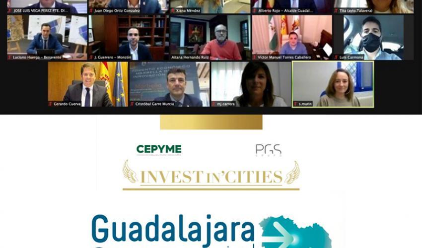 """Guadalajara capital y provincia se consolidan como destinos más atractivos para la inversión en la cumbre de """"Invest in Cities 2020"""""""