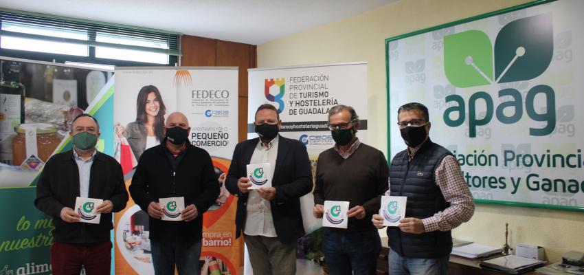 Las federaciones de Turismo y Hostelería y Comercio de CEOE-CEPYME apoyan a los Alimentos de Guadalajara