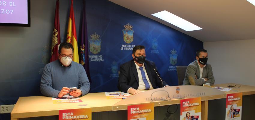 """La Concejalía de Comercio lanza una campaña de primavera para que los guadalajareños """"marquen tendencia"""""""