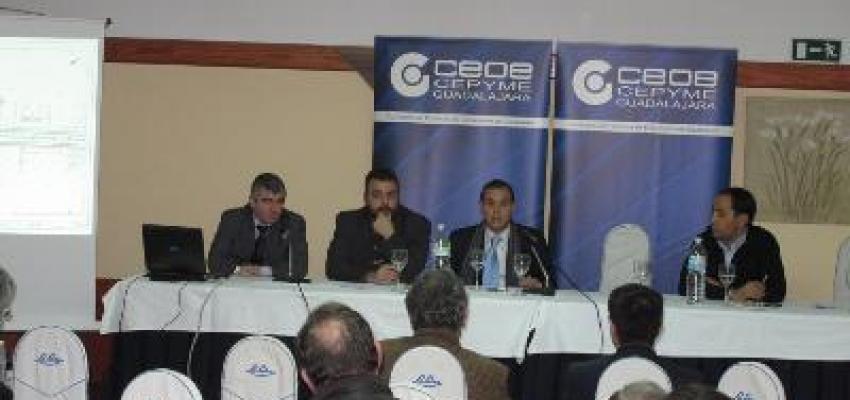 CEOE-CEPYME Guadalajara reúne a los empresarios de los polígonos de Azuqueca de Henares y Alovera