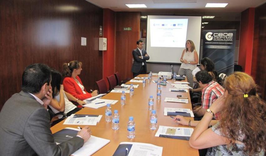 La aplicación de las enmiendas al Convenio Solas (VGM), centra una nueva jornada de comercio exterior de CEOE-CEPYME Guadalajara