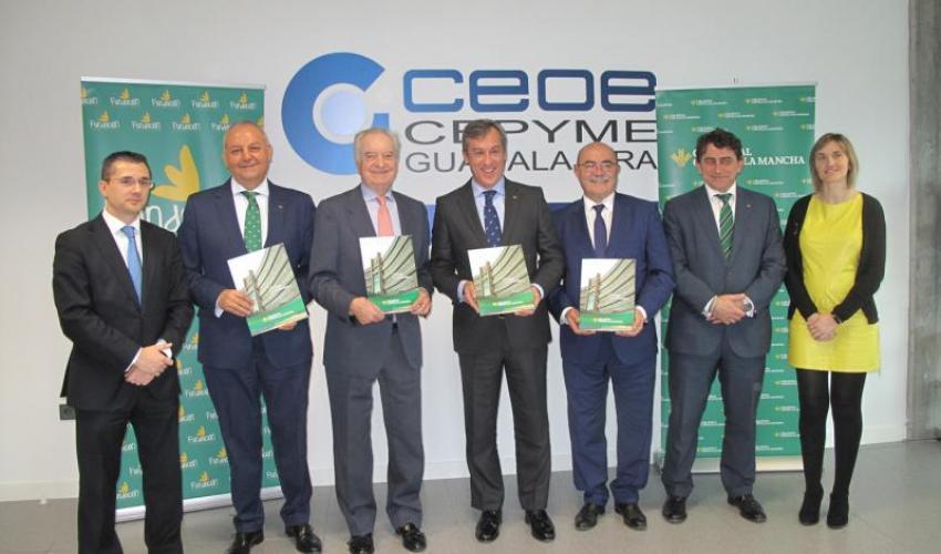 Caja Rural CLM y CEOE-CEPYME Guadalajara renuevan su convenio social para mejorar la proyección empresarial alcarreña