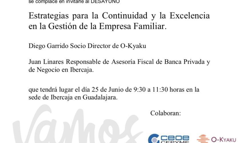 Jornada sobre la Empresa Familiar de Ibercaja - Ayudas y Fiscalidad