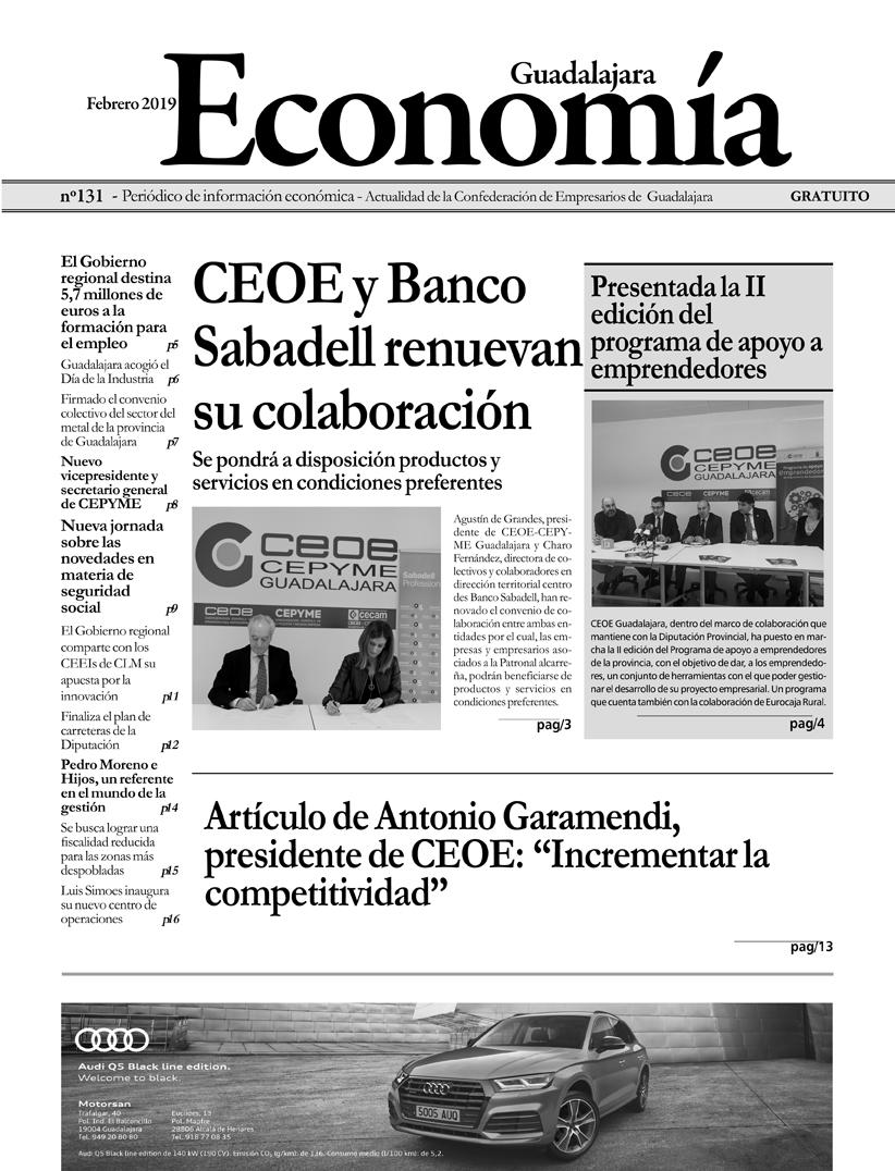 Periódico Economía de Guadalajara - Febrero 2019
