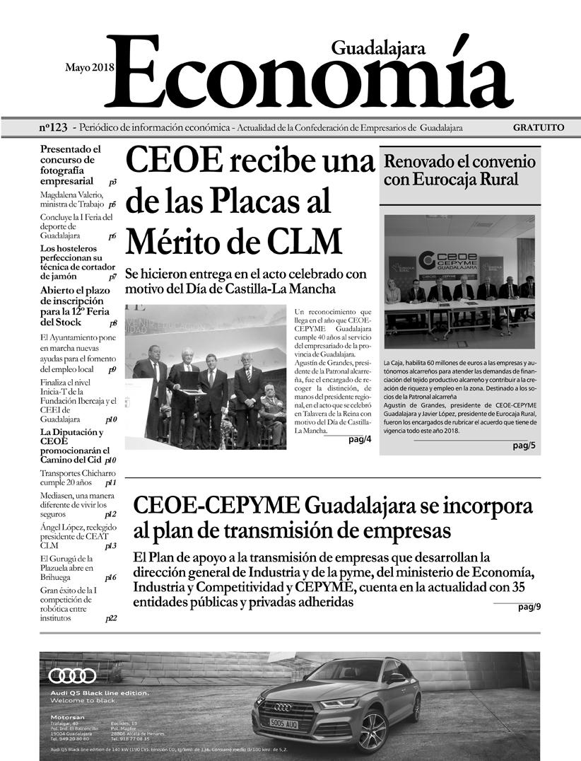 Periódico Economía de Guadalajara - Mayo 2018