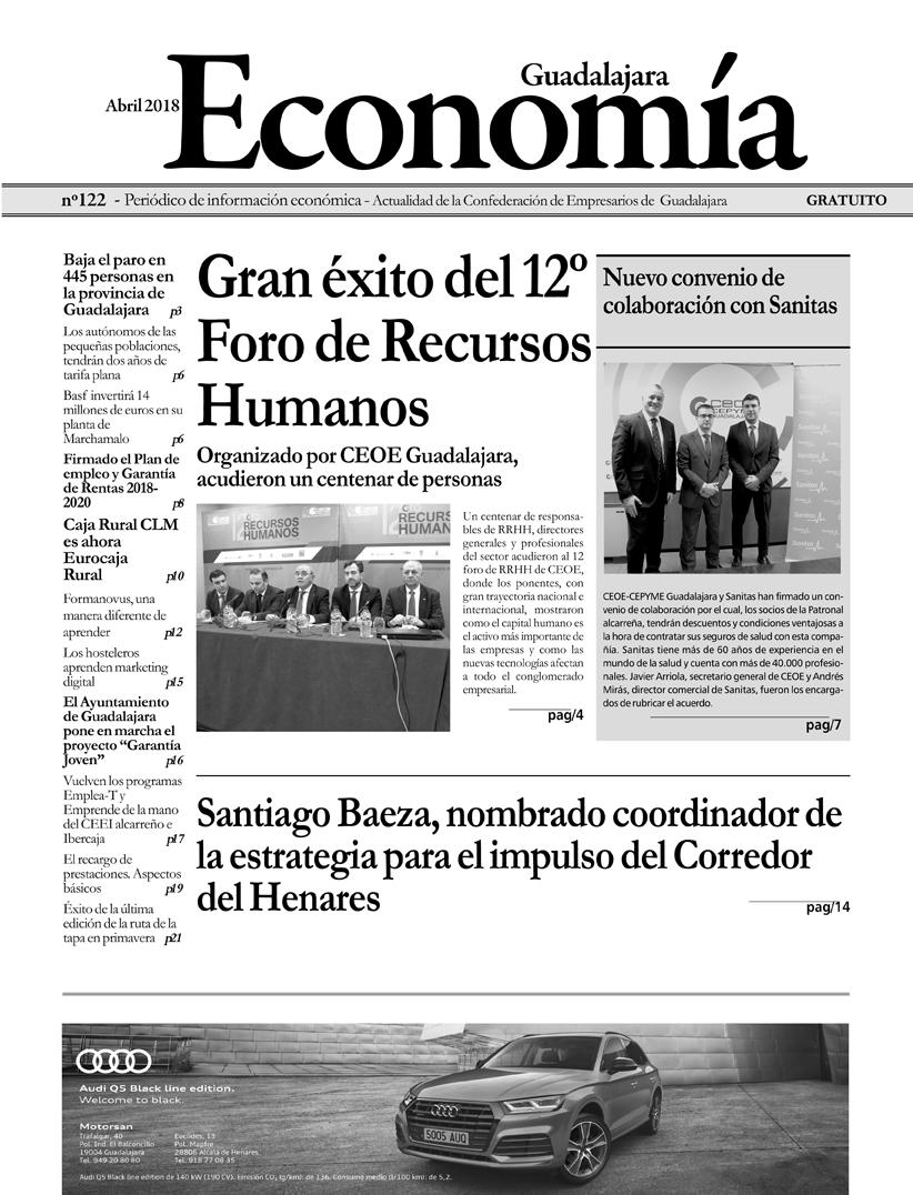 Periódico Economía de Guadalajara - Abril 2018