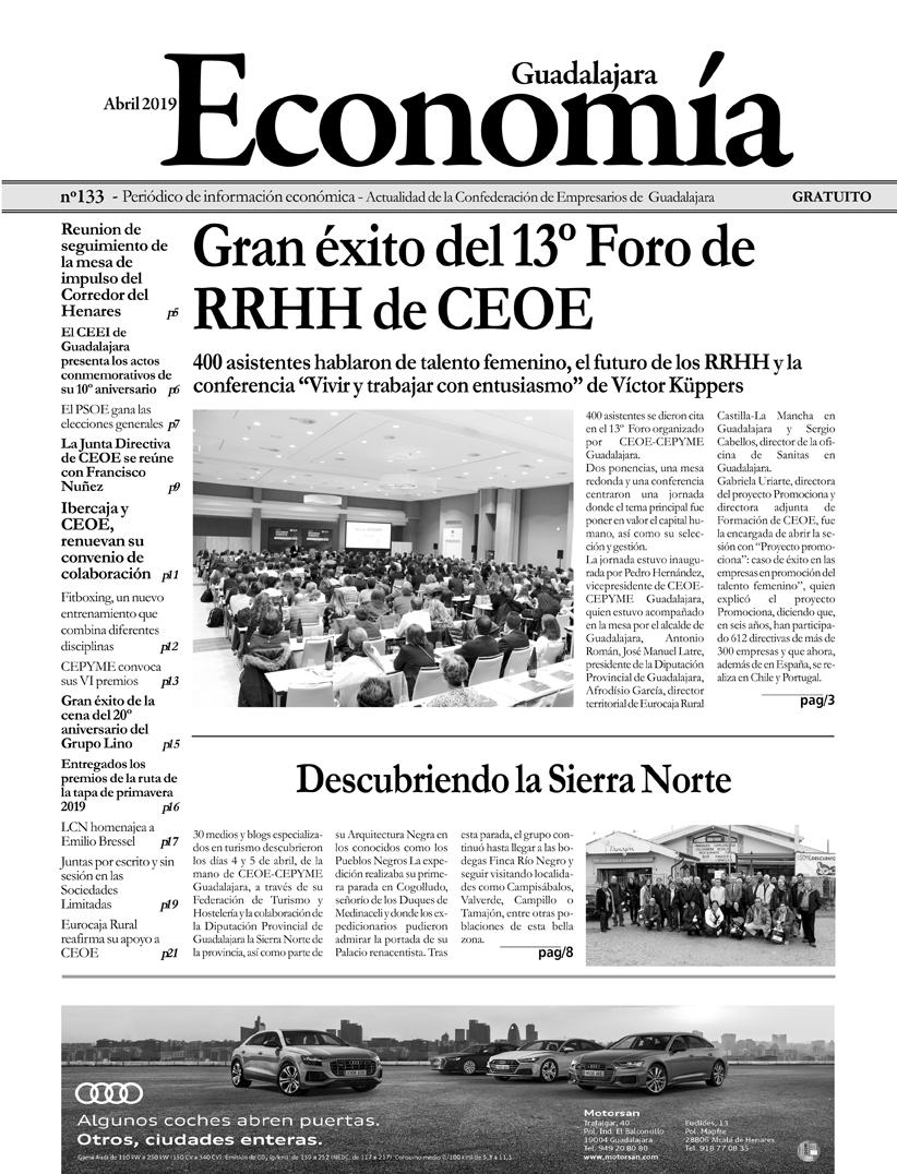 Periódico Economía de Guadalajara - Abril 2019