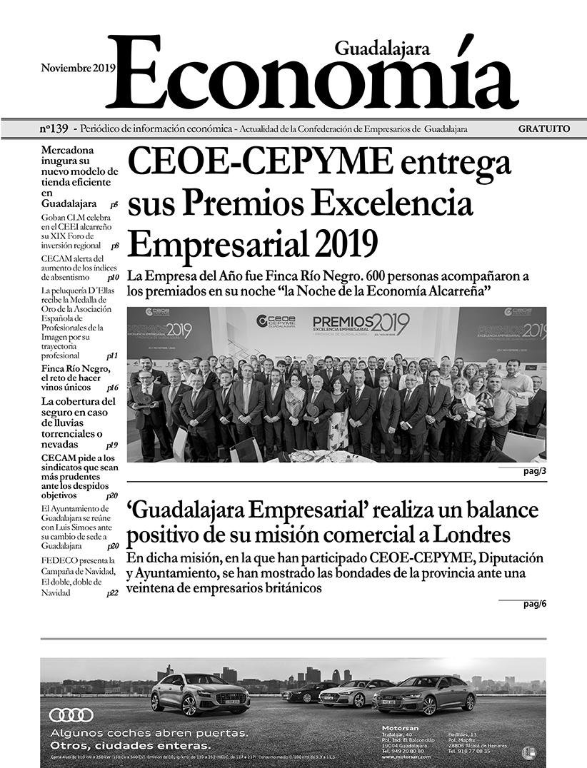 Periódico Economía de Guadalajara - Noviembre 2019