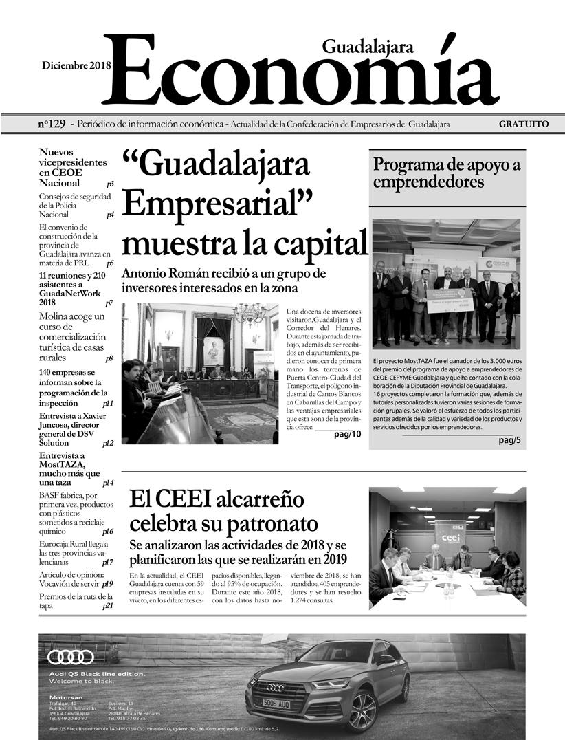 Periódico Economía de Guadalajara - Diciembre 2018