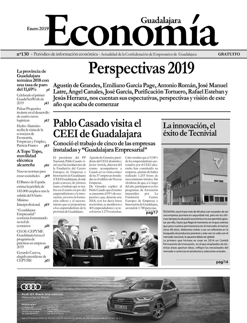 Periódico Economía de Guadalajara - Enero 2019