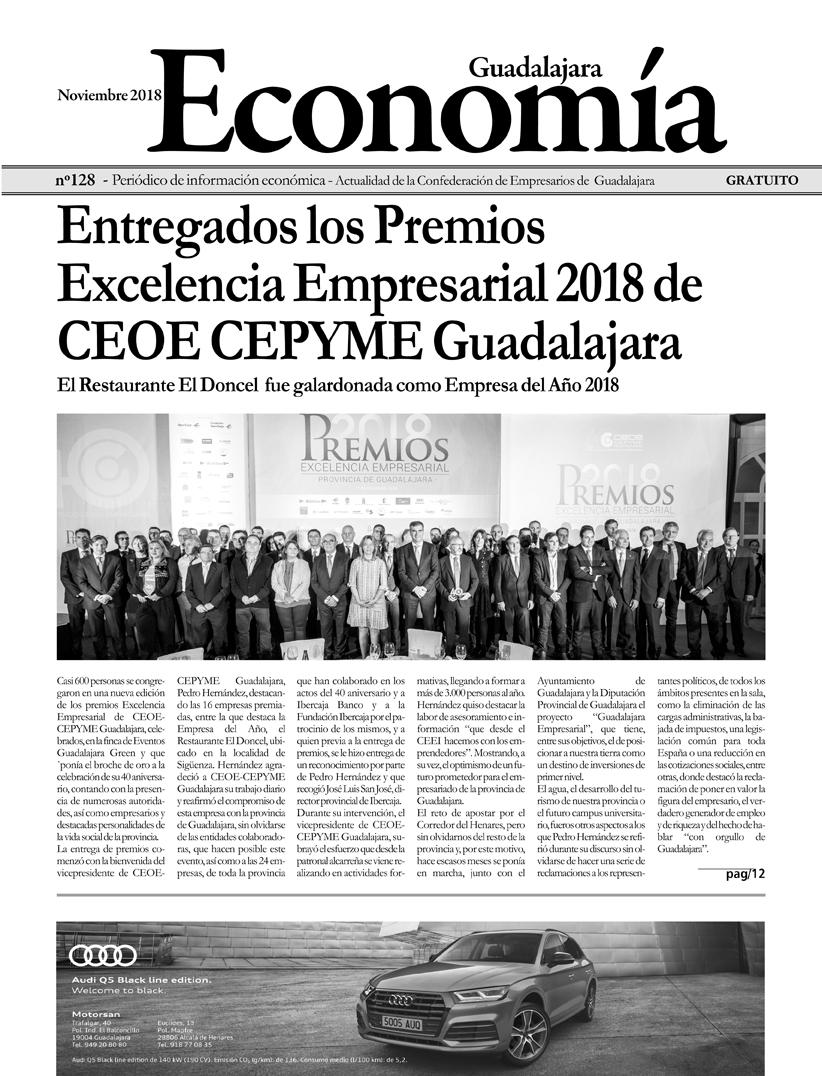 Periódico Economía de Guadalajara - Noviembre 2018
