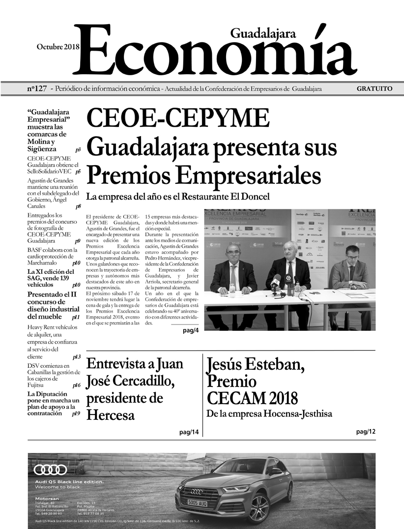 Periódico Economía de Guadalajara - Octubre 2018
