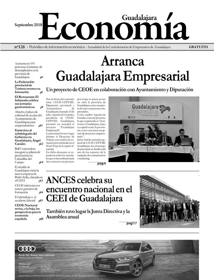 Periódico Economía de Guadalajara - Septiembre 2018