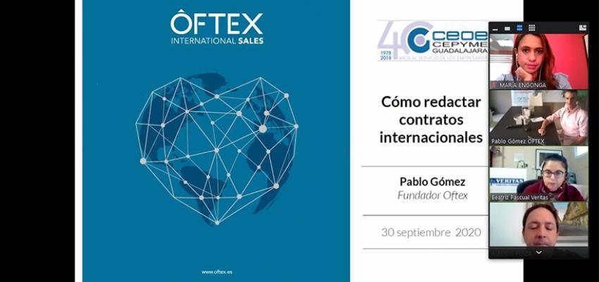 Arranca un nuevo ciclo virtual de jornadas de comercio exterior de CEOE-CEPYME Guadalajara
