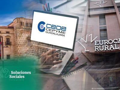 Eurocaja Rural y CEOE-CEPYME Guadalajara renuevan su convenio social fomentando el crecimiento empresarial durante la pandemia