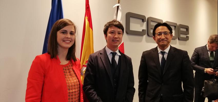 'Guadalajara Empresarial' presente en un encuentro económico con el embajador de Japón, Hiramatsu Kenji