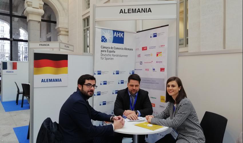 'Guadalajara Empresarial' mantiene reuniones con representantes de distintos países en IMEX-Madrid 2020