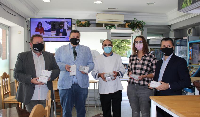 La hostelería de Guadalajara se vuelca con la campaña del 25N,  Amantes del buen trato, por el Día Internacional contra la violencia machista