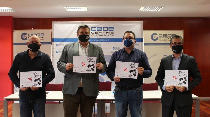 Ayuntamiento de Guadalajara, FEDECO y FCG ponen en marcha la campaña Black Friday