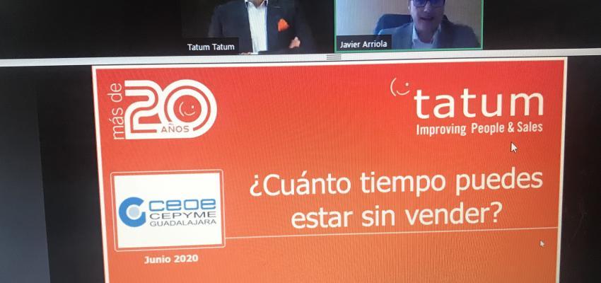Las claves para reactivar a los equipos comerciales centra un nuevo webinar de CEOE-CEPYME Guadalajara