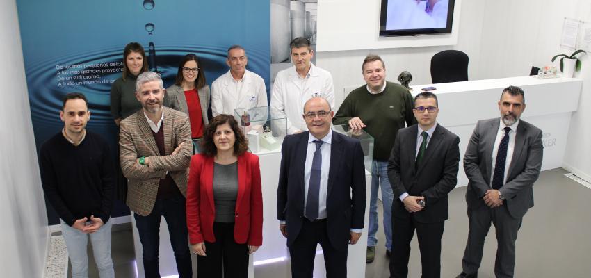 CEOE-CEPYME Guadalajara visita Mixer&Pack con motivo de su nueva planta de producción