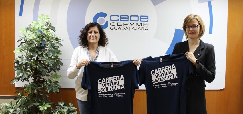 CEOE-CEPYME Guadalajara colabora en la carrera virtual solidaria de la fundación Eurocaja rural