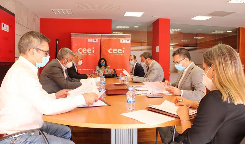 El CEEI de Guadalajara celebra su patronato como referente del emprendimiento y la innovación en la provincia