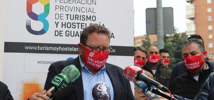 La Federación provincial de Turismo y Hostelería de Guadalajara reclama un plan de apoyo para la supervivencia del sector