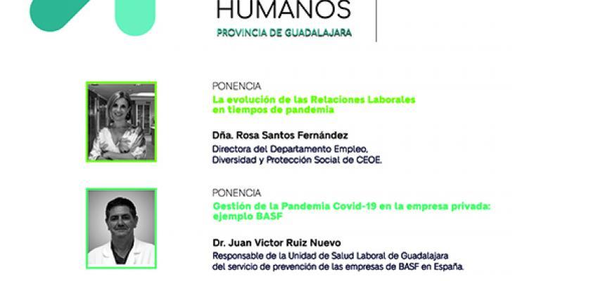 El 14º foro de Recursos Humanos de la provincia de Guadalajara tendrá lugar el 28 de octubre, de manera virtual