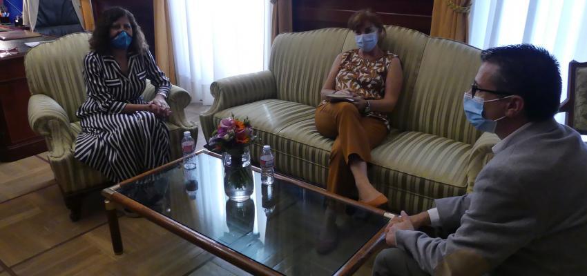 La presidenta de CEOE-CEPYME Guadalajara se reúne con la nueva subdelegada del gobierno en Guadalajara