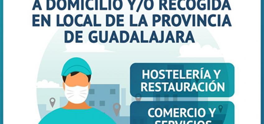 El directorio de establecimientos de la provincia con servicio a domicilio crece un 60% en una semana