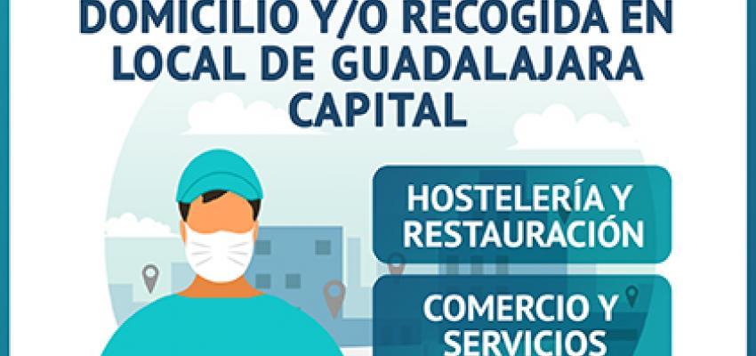 Ya son más de 70 los establecimientos que  realizan pedidos por encargo o a domicilio en Guadalajara