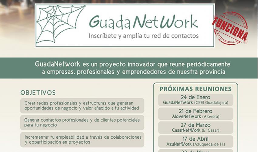 GuadaNetWork prepara  seis nuevos encuentros para el primer semestre de 2020, con el objetivo de seguir acercando empresas