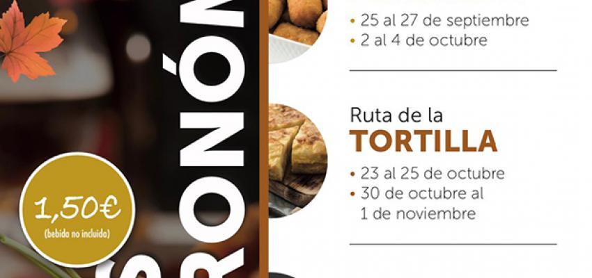 Este fin de semana se pone en marcha la segunda ruta gastronómica de otoño en Guadalajara