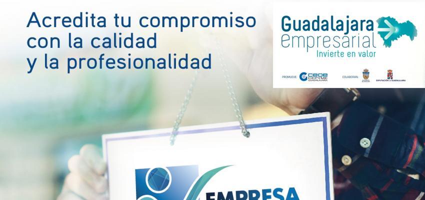 CEOE-CEPYME Guadalajara lanza el sello empresa responsable y de confianza con la colaboración de la Diputación Provincial y el Ayuntamiento de Guadalajara