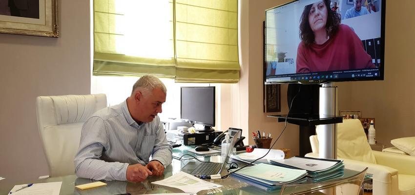 Diputación y CEOE preparan un directorio de comercios con entrega a domicilio, abierto a todas las empresas de la provincia