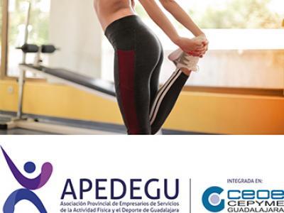 La Asociación provincial de empresarios de servicios de la actividad física y el deporte de Guadalajara solicita al Gobierno regional la ampliación de aforo en sus instalaciones