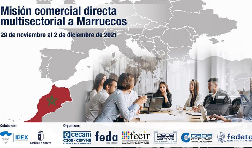 Continúa abierto el plazo de inscripción para la asistencia a la Feria Anuga en Colonia y la misión comercial a Marruecos, próximas acciones internacionales de CECAM y CEOE-CEPYME Guadalajara