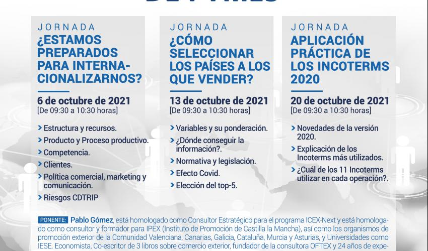 JORNADA VIRTUAL COMEX: APLICACIÓN PRÁCTICA DE LOS INCOTERMS 2020