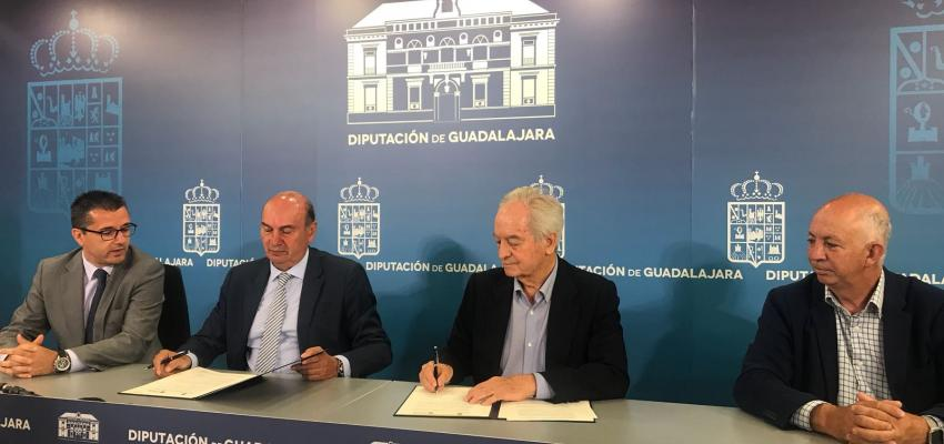 La Diputación de Guadalajara reafirma su apoyo a los empresarios y autónomos de la provincia ampliando su colaboración con CEOE-CEPYME Guadalajara