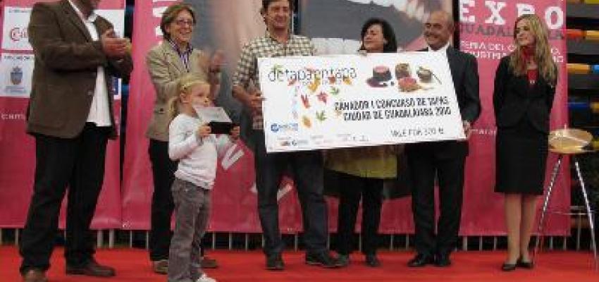 SOFT SHELLCRAB (Cangrejo de concha blanda), tapa ganadora del I concurso de la Ruta de la Tapa