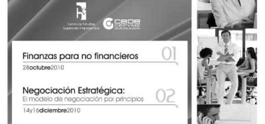 El Centro de Estudios de CEOE Guadalajara programa sus cursos de alta dirección hasta final de año
