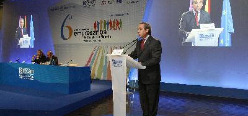 El VI Congreso Regional de empresarios de CECAM reúne a 600 empresarios de la región