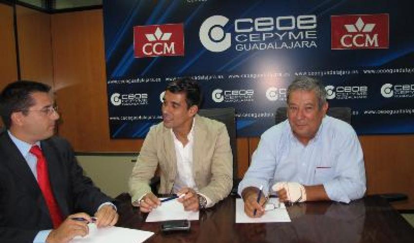 CEOE-CEPYME Guadalajara y CCM se reúnen para concretar la próxima misión comercial a Rusia
