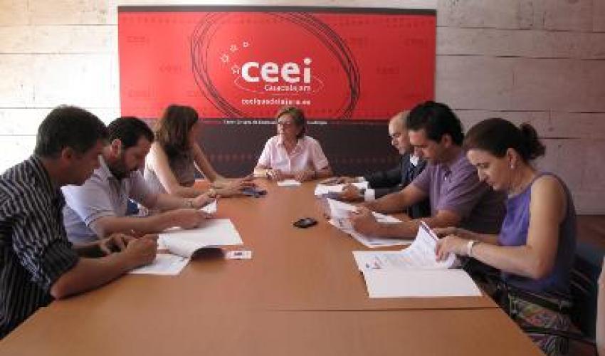 Tres nuevas empresas se incorporan al Centro de Empresas de Aguas Vivas