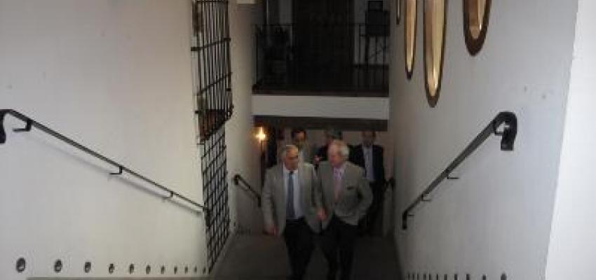 La primera reunión oficial del presidente de la Cámara de Comercio es con el presidente de CEOE
