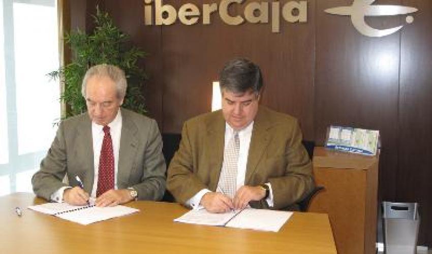 CEOE-CEPYME Guadalajara e Ibercaja firman un convenio de colaboración