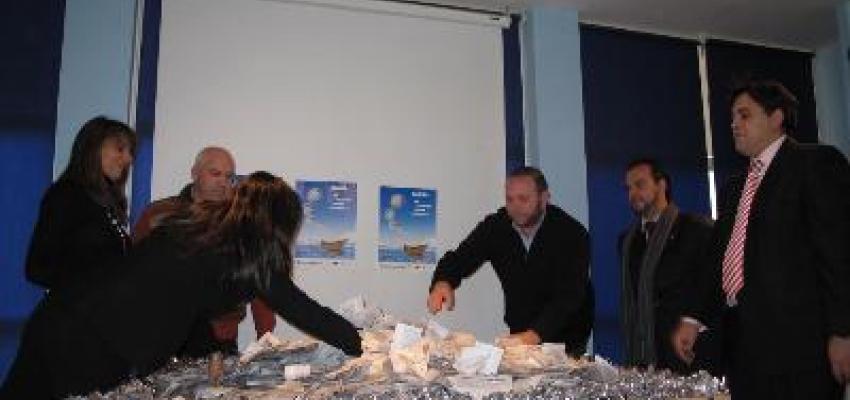 Un total de 25.000 papeletas han entrado en el sorteo del curcero por el Mediterráneo